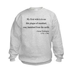 George Washington 9 Sweatshirt
