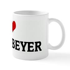 I Love OLIVIA BEYER Mug