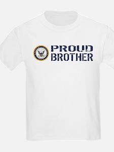 U.S. Navy: Proud Brother (Blue) T-Shirt