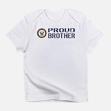 U.S. Navy: Proud Brother (Blue) Infant T-Shirt