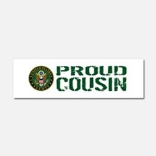 U.S. Army: Proud Cousin (Green & Car Magnet 10 x 3