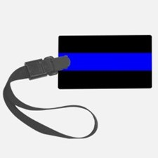Police: The Thin Blue Line Luggage Tag