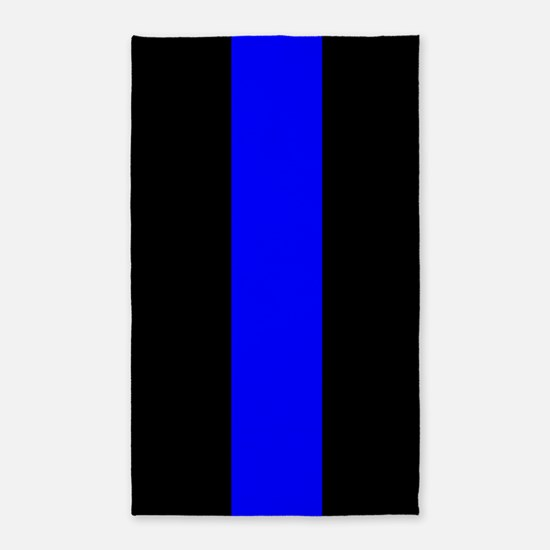 Police: The Thin Blue Line Area Rug