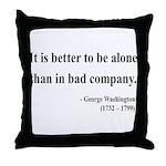 George Washington 10 Throw Pillow
