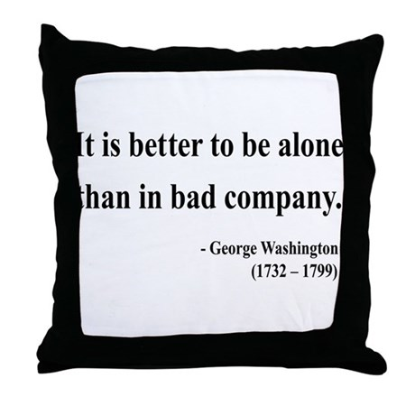 George Washington 10 Throw Pillow