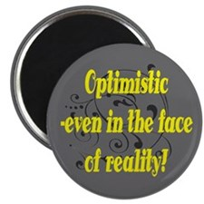 Optimistic In The Face Of Reality Magnet (10 pac