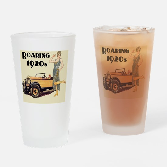 Cute 20s Drinking Glass