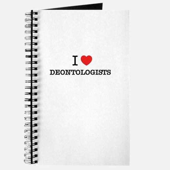 I Love DEONTOLOGISTS Journal