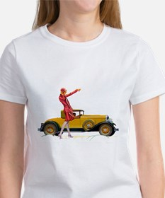 Fast Car and Flapper Lady T-Shirt