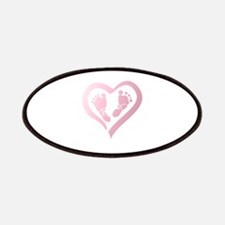 Baby Prints in Heart by LH Patch