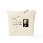 George Washington 11 Tote Bag
