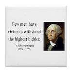 George Washington 11 Tile Coaster