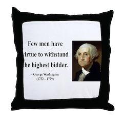 George Washington 11 Throw Pillow