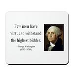George Washington 11 Mousepad