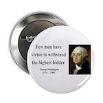 "George Washington 11 2.25"" Button"