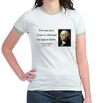 George Washington 11 Jr. Ringer T-Shirt