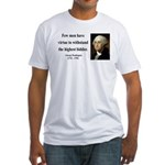 George Washington 11 Fitted T-Shirt