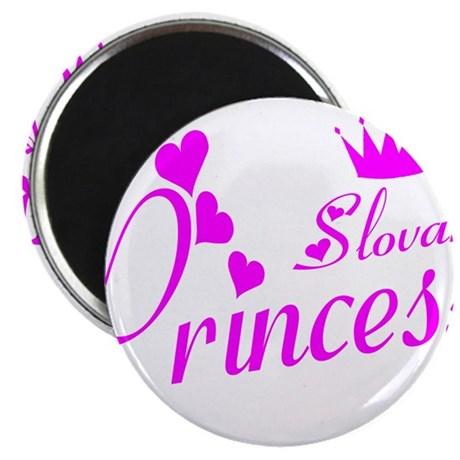 "Slovak Princess 2.25"" Magnet (100 pack)"