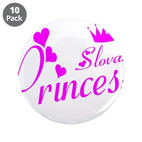 "Slovak Princess 3.5"" Button (10 pack)"