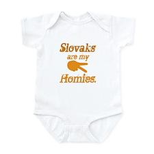 Slovaks are my Homies Infant Bodysuit