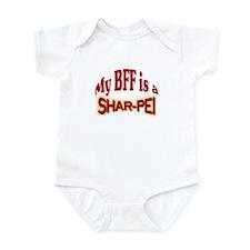 BFF Shar-Pei Infant Bodysuit