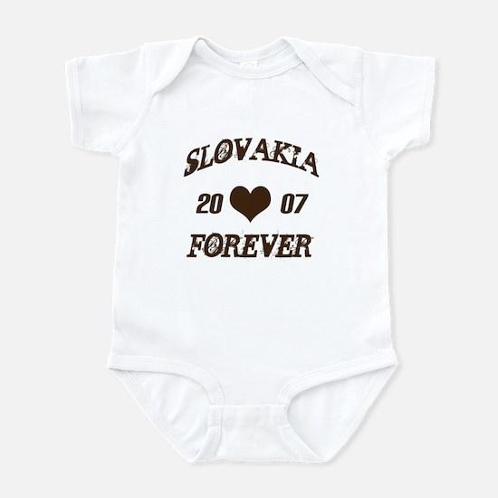 Slovakia 2007 Infant Bodysuit