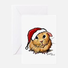 Christmas Cavy Greeting Card