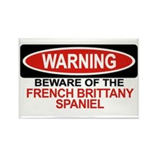 FRENCH BRITTANY SPANIEL Rectangle Magnet