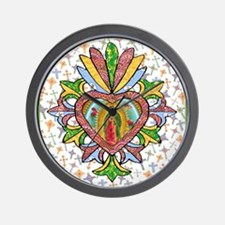 Virgin of Guadalupe Milagro Wall Clock
