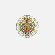 Virgin of Guadalupe Milagro Mini Button