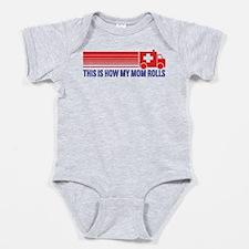 Cool Emergency technician Baby Bodysuit