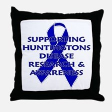 ...Huntingtons... Throw Pillow