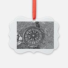 Manhole Cover Luke's Fave Ornament
