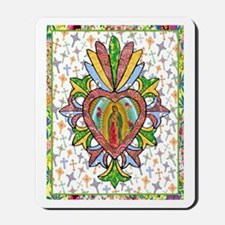 Virgin of Guadalupe Milagro Mousepad