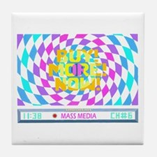 Mass Media 2 Tile Coaster