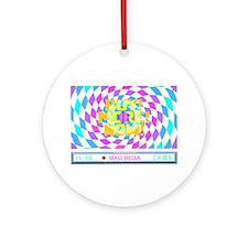 Mass Media 2 Ornament (Round)