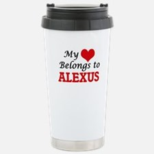 My heart belongs to Ale Travel Mug