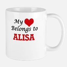 My heart belongs to Alisa Mugs