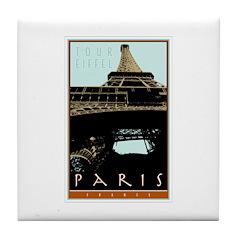 Paris, Eiffel Tower Tile Coaster