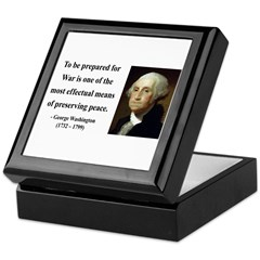 George Washington 15 Keepsake Box