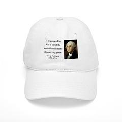 George Washington 15 Baseball Cap