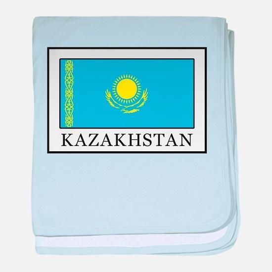 Kazakhstan baby blanket