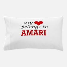 My heart belongs to Amari Pillow Case
