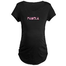 pamela pink Maternity T-Shirt