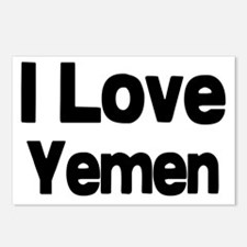 I love Yemen Postcards (Package of 8)