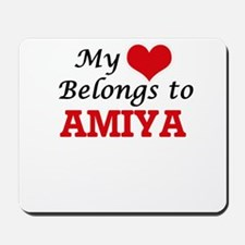 My heart belongs to Amiya Mousepad