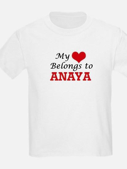 My heart belongs to Anaya T-Shirt