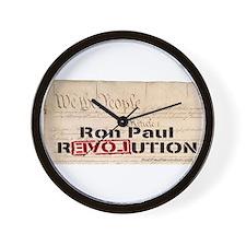 Ron Paul Preamble-C Wall Clock