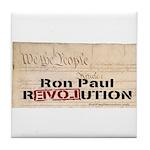Ron Paul Preamble-C Tile Coaster