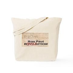 Ron Paul Preamble-C Tote Bag
